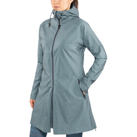 AGU Seq Chaqueta para lluvia Mujer, steel blue